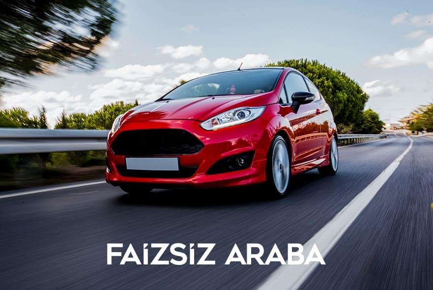 faizsiz araba
